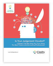 Clarity Labs White Paper: Is Your Judgement Clouded?