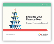 Scorecard: Evaluate Your Finance Team