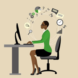 Signs that your employee can work remotely.