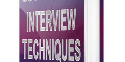 How to run a good accounting interview.