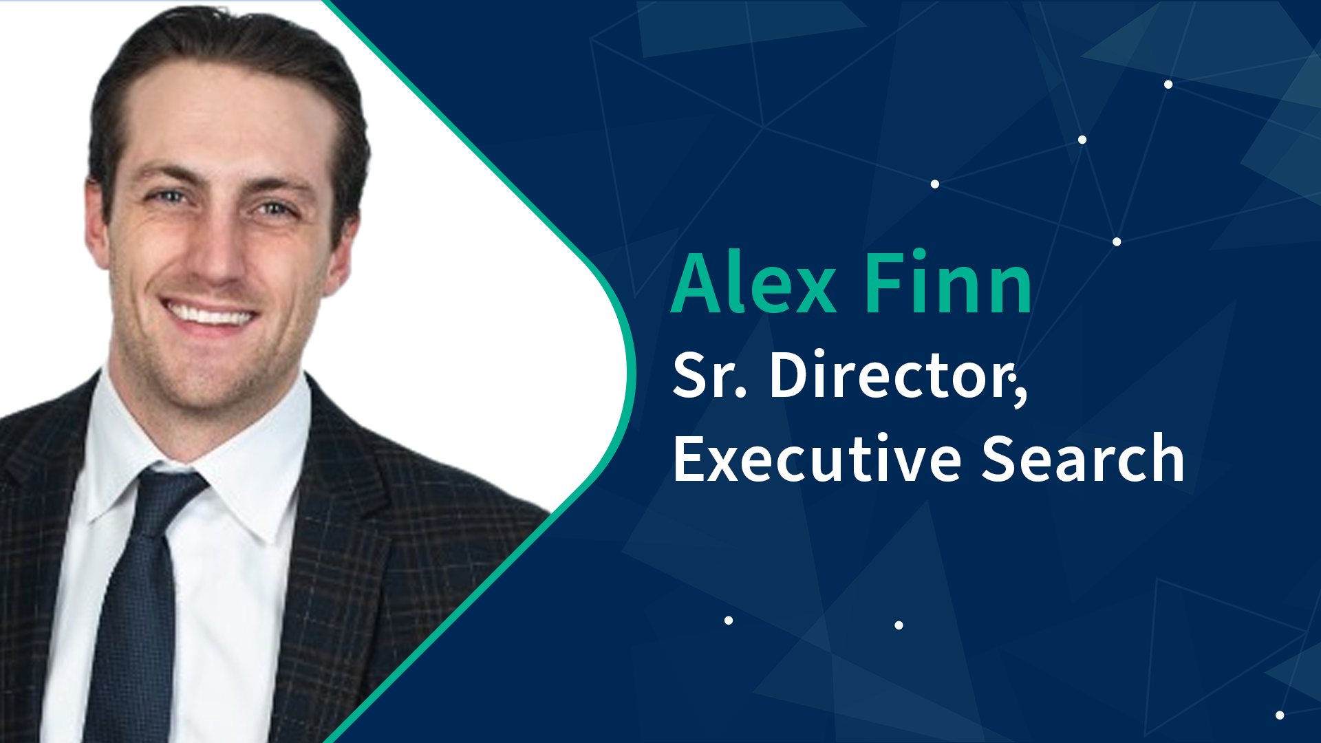 Sr. Director Executive Search Alex Finn